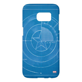 Captain America Shield Blueprint