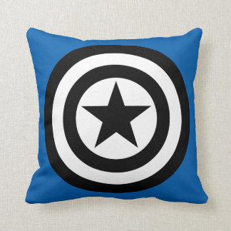 Captain America Shield Icon Cushion