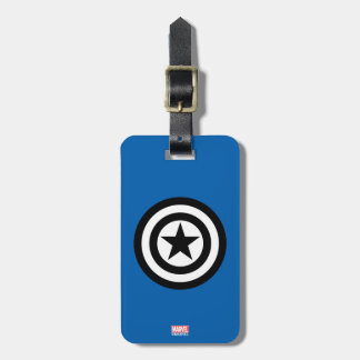 Captain America Shield Icon Luggage Tag