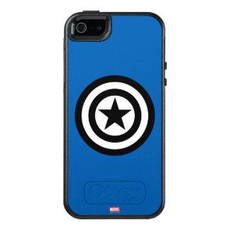 Captain America Shield Icon OtterBox iPhone 5/5s/SE Case