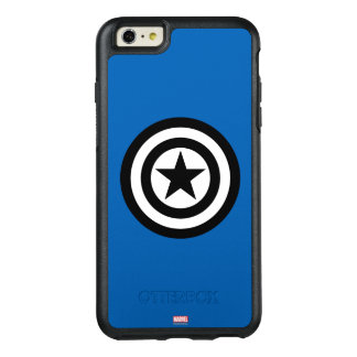 Captain America Shield Icon OtterBox iPhone 6/6s Plus Case