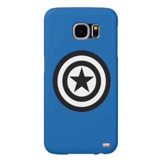 Captain America Shield Icon Samsung Galaxy S6 Cases