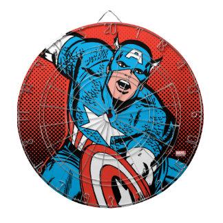 Captain America Shield Slam Dartboard