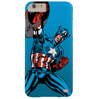 Captain America Shield Up Barely There iPhone 6 Plus Case