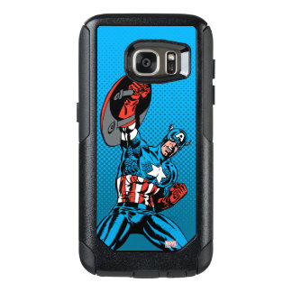 Captain America Shield Up OtterBox Samsung Galaxy S7 Case