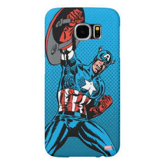 Captain America Shield Up Samsung Galaxy S6 Cases
