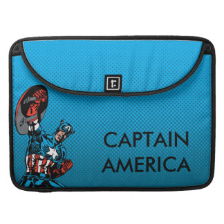 Captain America Shield Up Sleeve For MacBook Pro