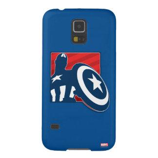 Captain America Silhouette Icon Galaxy S5 Cover
