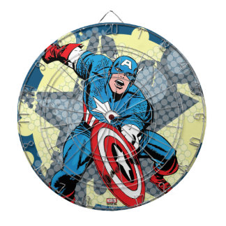 Captain America Star Dartboard