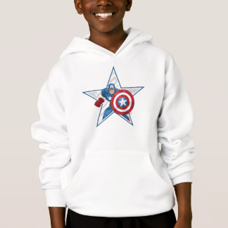 Captain America Star Graphic