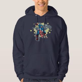Captain America Star Hoodie