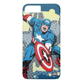Captain America Star iPhone 8 Plus/7 Plus Case