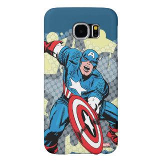 Captain America Star Samsung Galaxy S6 Cases