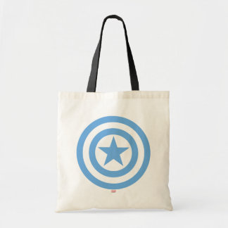 Captain America Super Soldier Logo Budget Tote Bag