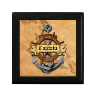 Captain Anchor And Wheel Gift Box