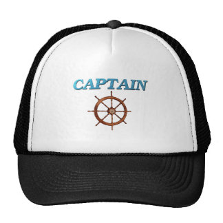 Captain and Captain s Wheel Hat