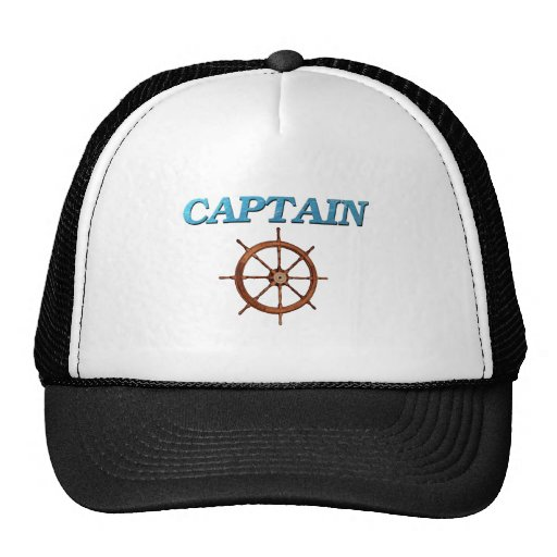 Captain and Captain's Wheel Hat