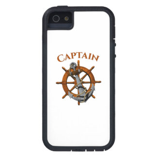 Captain And Nautical Anchor iPhone 5 Cover