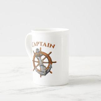 Captain And Nautical Anchor Tea Cup
