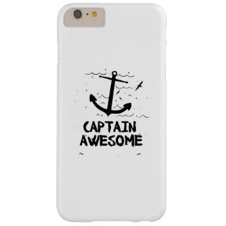 Captain Awesome Boat Gifts Barely There iPhone 6 Plus Case