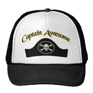 Captain Awesome Cap