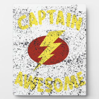 captain Awesome Display Plaque