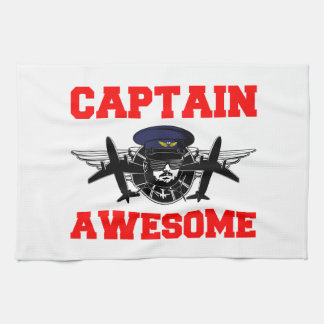 Captain Awesome Kitchen Towels