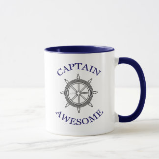 CAPTAIN AWESOME mug