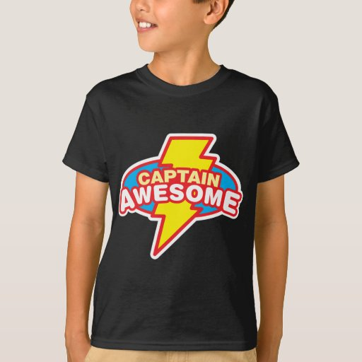 Captain Awesome Shirts