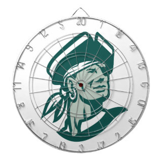 Captain Buccaneer Icon Dartboard