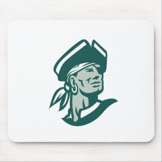 Captain Buccaneer Icon Mouse Pad