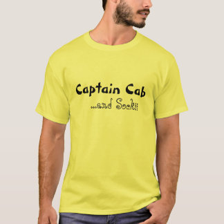 Captain Cab and Sockii T-Shirt