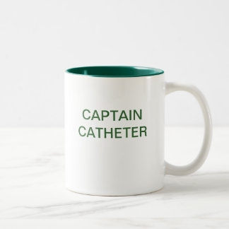 CAPTAIN CATHETER Two-Tone COFFEE MUG