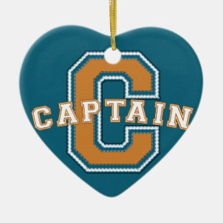Captain Ceramic Ornament