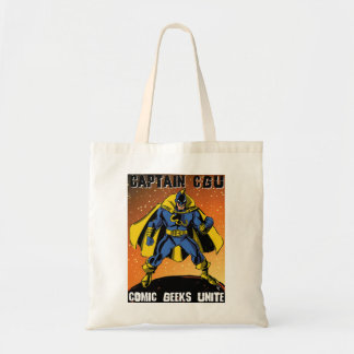 Captain CGU Tote Bag