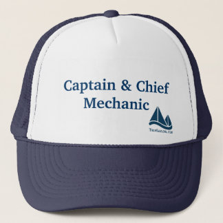 Captain & Chief Mechanic Sailing Hat