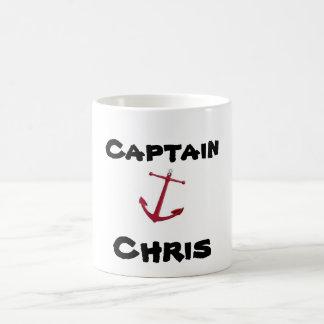 Captain, Chris Coffee Mug