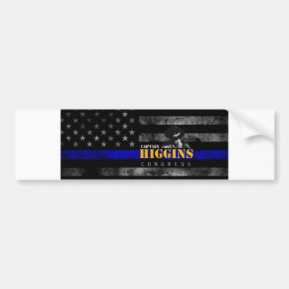 Captain Clay Higgins For Congress Bumper Sticker