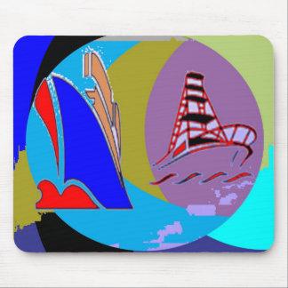 Captain Cook - Bon Voyage Mouse Pad