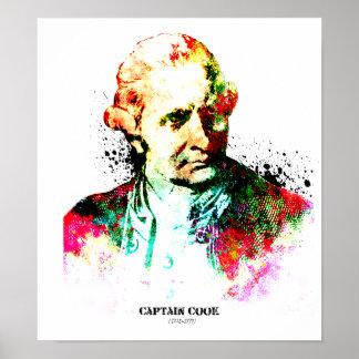 Captain Cook,British Navy's hero Print
