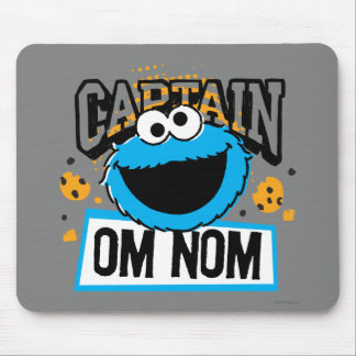 Captain Cookie Monster Mouse Pad
