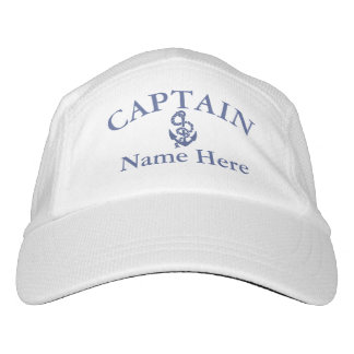 Captain - customizable hat