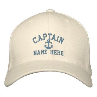 Captain - customizable (side text) baseball cap