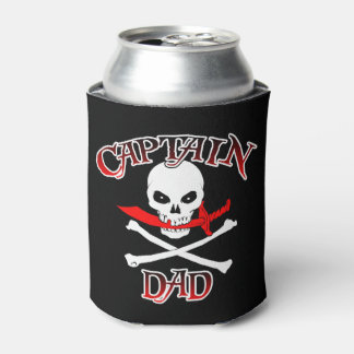 Captain Dad Can Cooler