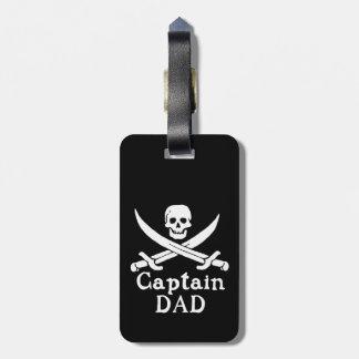 Captain Dad - Classic Bag Tag