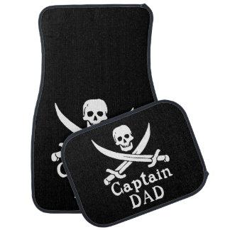 Captain Dad - Classic Floor Mat