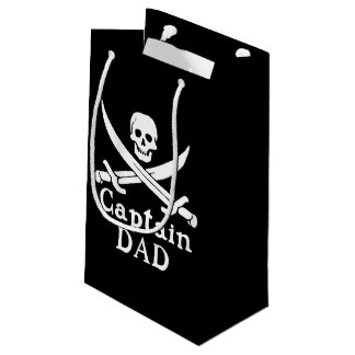 Captain Dad - Classic Small Gift Bag