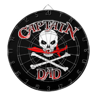Captain Dad Dartboard