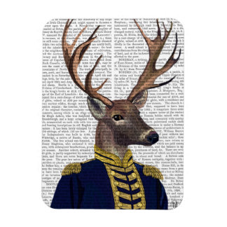 Captain Deer Rectangular Photo Magnet