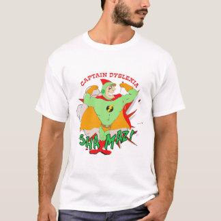 Captain Dyslexia T-shirt